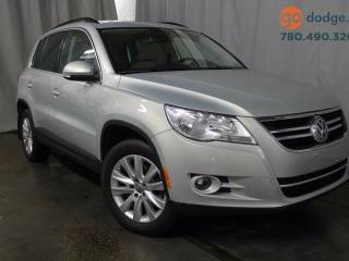 Used 2010 Volkswagen Tiguan 2.0 All Wheel Drive 4MOTION / Panoramic Sunroof / Rear Back Up Camera for sale in Edmonton, AB