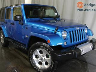 Used 2015 Jeep Wrangler Unlimited Sahara 4X4 for sale in Edmonton, AB