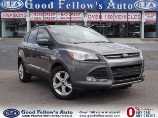 Used 2014 Ford Escape SE, FWD, LEATHER, REAR VIEW CAMERA, ECOBOOST, 2.0L for sale in North York, ON