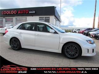 Used 2011 Subaru Impreza WRX STi STI TURBO AWD 6 SPEED CERTIFIED 2YR WARRANTY for sale in Milton, ON