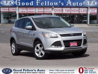 Used 2014 Ford Escape SE MODEL, FWD, CAMERA, 1.6 ECOBOOST for sale in North York, ON