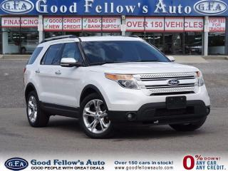 Used 2014 Ford Explorer LIMITED, 6 PASS, 4WD, LEATHER, 6CYL, AUTO PARK for sale in North York, ON