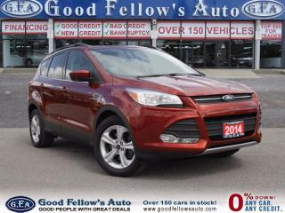 Used 2014 Ford Escape SE,  FWD, LEATHER,CAMERA, ECOBOOST, PAN ROOF, 2.0L for sale in North York, ON