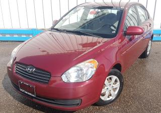 Used 2009 Hyundai Accent Sedan *AUTOMATIC* for sale in Kitchener, ON