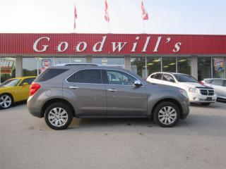 Used 2010 Chevrolet Equinox LT! CLEAN CAR PROOF! HEATED LEATHER SEATS! for sale in Aylmer, ON