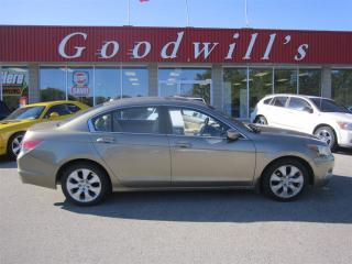 Used 2008 Honda Accord EX-L! HEATED LEATHER SEATS! SUNROOF! for sale in Aylmer, ON