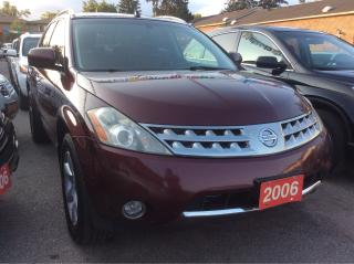 Used 2006 Nissan Murano SE for sale in Scarborough, ON