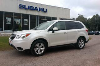 Used 2015 Subaru Forester CONVENIENCE PKG for sale in Minden, ON