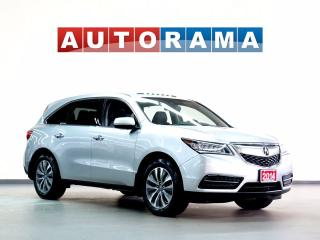 Used 2014 Acura MDX TECH PKG NAVIGATION LEATHER SUNROOF 4WD 7 PASS for sale in North York, ON