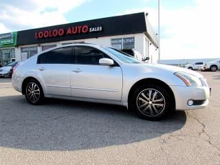 Used 2004 Nissan Maxima SL LEATHER SUNROOF CERTIFIED 2YR WARRANTY for sale in Milton, ON
