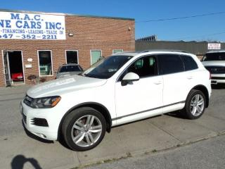 Used 2012 Volkswagen Touareg NAVIGATION - PANO ROOF - CERTIFIED for sale in North York, ON