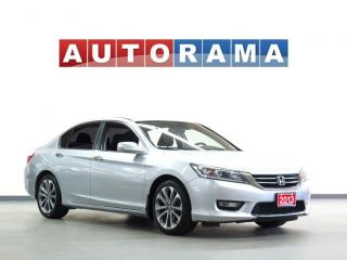 Used 2013 Honda Accord EX-L LEATHER SUNROOF BACKUP CAM ALLOYS for sale in North York, ON