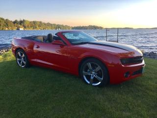 Used 2012 Chevrolet Camaro 2LT Only 26026 km for sale in Perth, ON