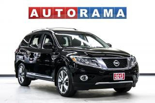 Used 2013 Nissan Pathfinder NAVIGATION LEATHER  7 PASS 4WD BACKUP CA for sale in North York, ON