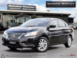 Used 2015 Nissan Sentra SV AUTOMATIC - CAMERA|ALLOYS|WARRANTY|PHONE for sale in Scarborough, ON