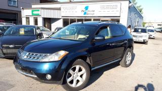 Used 2006 Nissan Murano SE LEATHER, P-MOON, BACKUP CAM. for sale in Etobicoke, ON