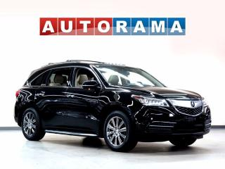 Used 2014 Acura MDX TECH PKG NAVIGATION LEATHER SUNROOF 7 PASS AWD for sale in North York, ON