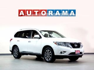 Used 2015 Nissan Pathfinder LEATHER SUNROOF 7 PASS 4WD BACKUP CAM for sale in North York, ON