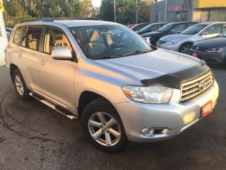 Used 2009 Toyota Highlander V6/AWD/7pass/LOADED/ALLOYS for sale in Scarborough, ON