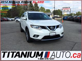 Used 2014 Nissan Rogue SL+AWD+Camera+Pano Roof+Leather Heated Seats+XM+++ for sale in London, ON