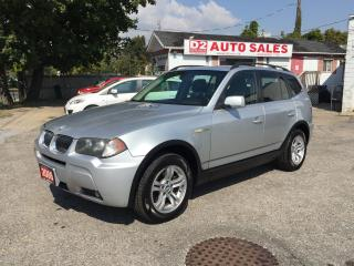 Used 2006 BMW X3 Leather/Roof/Loaded/Automatic/Certified for sale in Scarborough, ON