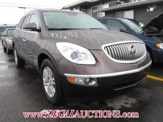 Used 2008 Buick ENCLAVE  4D UTILITY AWD for sale in Calgary, AB