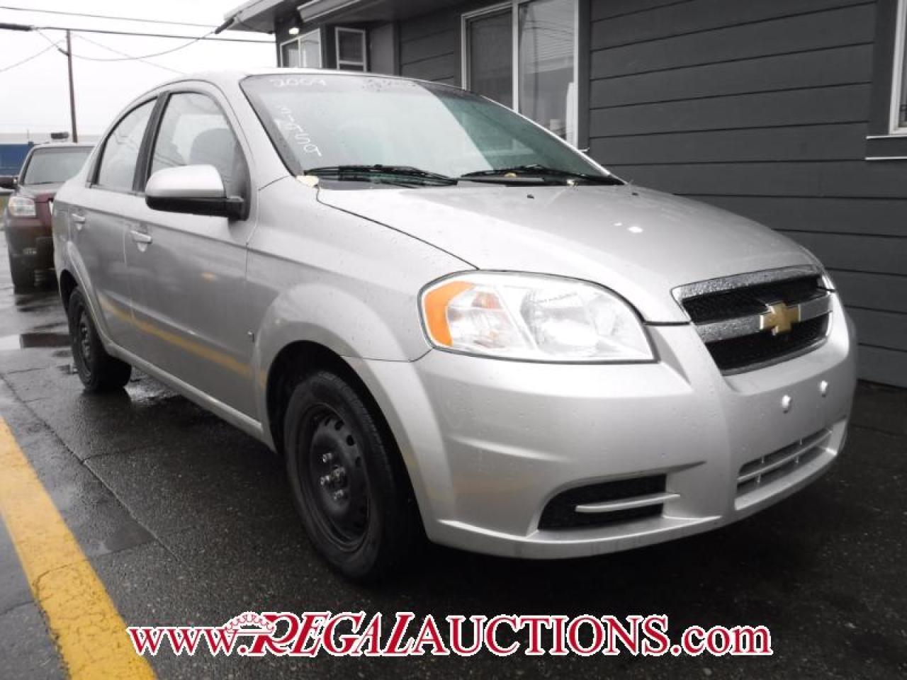 2009 Chevrolet AVEO LS 4D SEDAN