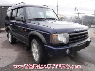 Used 2003 Land Rover DISCOVERY HSE SUV 4-DR for sale in Calgary, AB