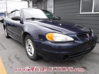 Used 2004 Pontiac GRAND AM SE1 4D SEDAN for sale in Calgary, AB