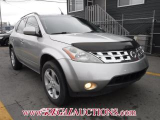 Used 2003 Nissan Murano 4D Utility AWD for sale in Calgary, AB