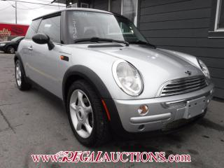 Used 2004 MINI COOPER BASE 2D HATCHBACK for sale in Calgary, AB