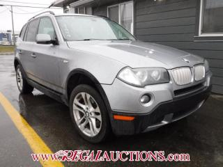 Used 2008 BMW X3  4D UTILITY 3.0SI for sale in Calgary, AB
