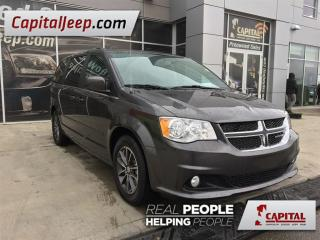 Used 2017 Dodge Grand Caravan Cloth/ Leather| LOW KM| Rear DVD| Remote Start for sale in Edmonton, AB