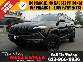 Used 2017 Jeep Cherokee Trailhawk-Navigation-Back up Camera for sale in Belleville, ON