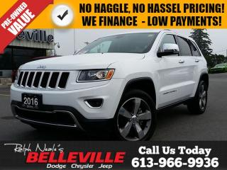 Used 2016 Jeep Grand Cherokee Limited-Sunroof-Back UP Camera for sale in Belleville, ON