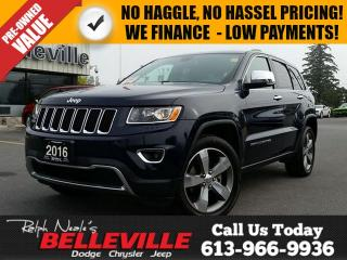 Used 2016 Jeep Grand Cherokee Limited-Sunroof-Remote Control for sale in Belleville, ON