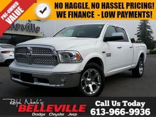 Used 2016 Dodge Ram 1500 Laramie- Rambox - Sunroof-Back up Camera for sale in Belleville, ON
