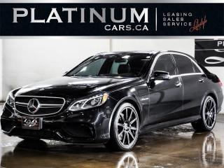 Used 2014 Mercedes-Benz E-Class E63 AMG 4MATIC, ADV for sale in North York, ON