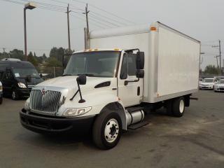 Used 2011 International 4300 16 Foot Diesel Dually Cube Van for sale in Burnaby, BC