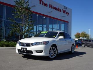 Used 2015 Honda Accord Touring Sedan AT/ Warranty unt for sale in Abbotsford, BC