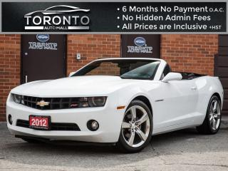 Used 2012 Chevrolet Camaro 2LT+RS PACKAGE+LEATHER+HEADS IP DISPLAY+BOSTON for sale in North York, ON