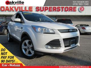 Used 2015 Ford Escape SE | AWD| LEATHER | SUNROOF | B/U CAM | NAVI for sale in Oakville, ON