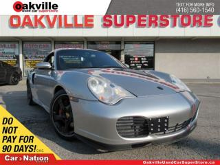 Used 2004 Porsche 911 Turbo (996)| HARDTOP CONVERTIBLE | CARBON TRIM for sale in Oakville, ON