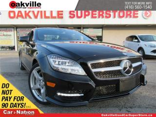 Used 2014 Mercedes-Benz CLS-Class CLS550 4MATIC | LEATHER | NAVI | SUNROOF | B/U CAM for sale in Oakville, ON