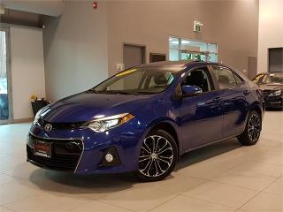 Used 2015 Toyota Corolla S-SPORT-AUTO-CAMERA-SUNROOF-ONLY 43KM for sale in York, ON