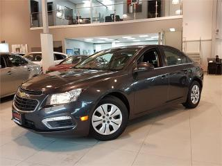 Used 2016 Chevrolet Cruze Limited LT-AUTO-REAR CAM-BLUETOOTH-ONLY 88KM for sale in York, ON