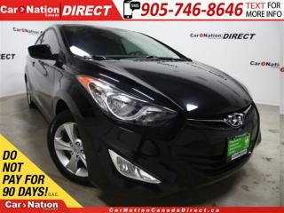 Used 2013 Hyundai Elantra GLS| SUNROOF| HEATED SEATS| OPEN SUNDAYS| for sale in Burlington, ON