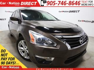Used 2014 Nissan Altima 2.5 SV| NAVI| SUNROOF| BACK UP CAMERA| for sale in Burlington, ON