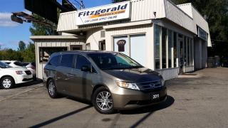 Used 2011 Honda Odyssey EX-L w/RES - LEATHER! BACK-UP CAM! DVD! for sale in Kitchener, ON