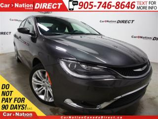 Used 2015 Chrysler 200 Limited| LOW KM'S| SUNROOF| NAVI| for sale in Burlington, ON